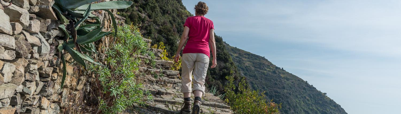 Wandern in den Cinque Terre bei Monesteroli