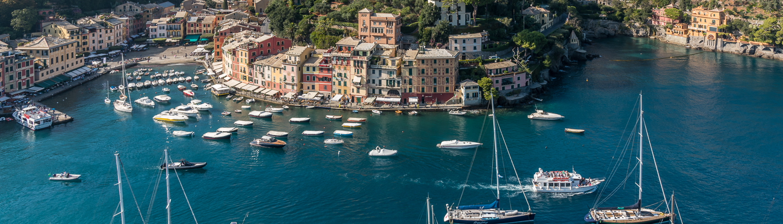 Italien, Wanderreisen in Ligurien: Portofino, das schönste Fischerdorf Italiens