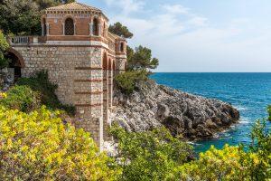 Noble Villa mit Ausblick an der Cote Azur