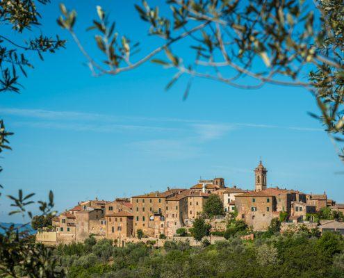 Wanderreisen in der Toskana, malerische Orte