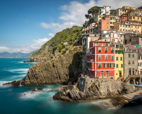 Riomaggiore, eines der Dörfer der Cinque Terre