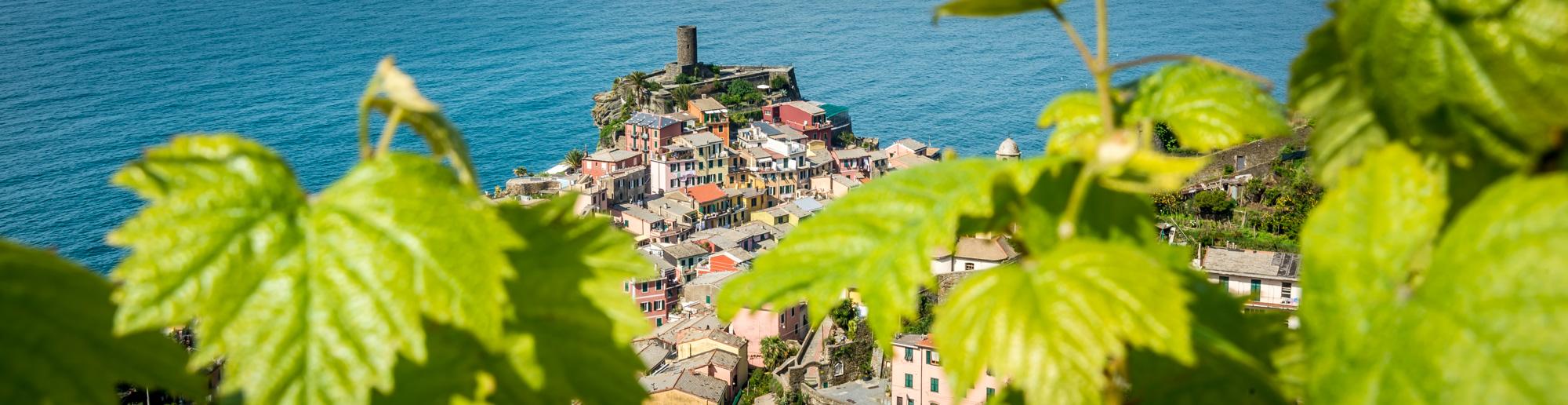 Vernazza, ein malerisches Dorf im Nationalpark der Cinque Terre