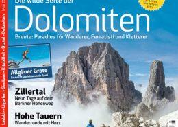 Der Bergsteiger mit Artikel ueber die Reisen Wandern und Wein in den Cinque Terre