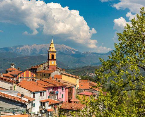 Wandern in der Lunigiana zwischen Ligurien und der Toskana