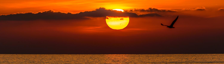 Sonnenuntergang in den Cinque Terre