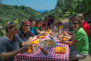 Picknick in Portofino mit Ausblick und feinen ligurischen Snacks