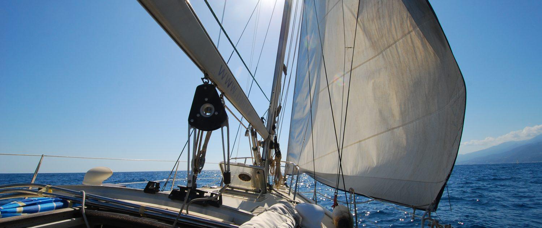 Segeln in den Cinque Terre