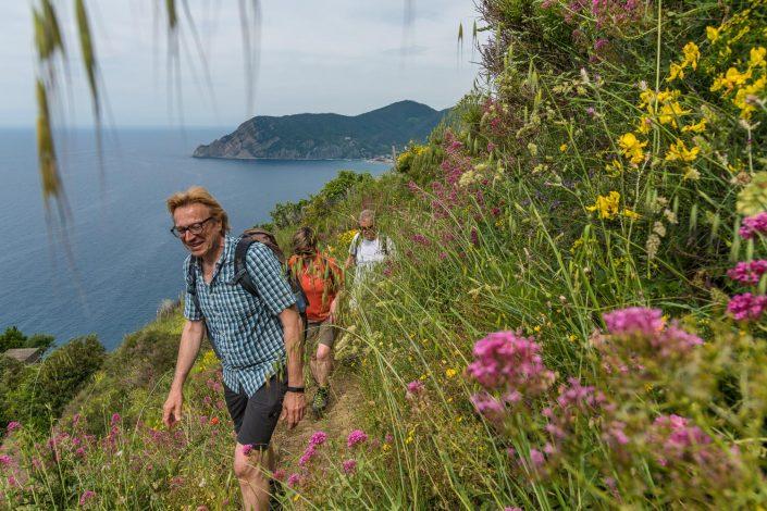 Wandern mit Meerblick!
