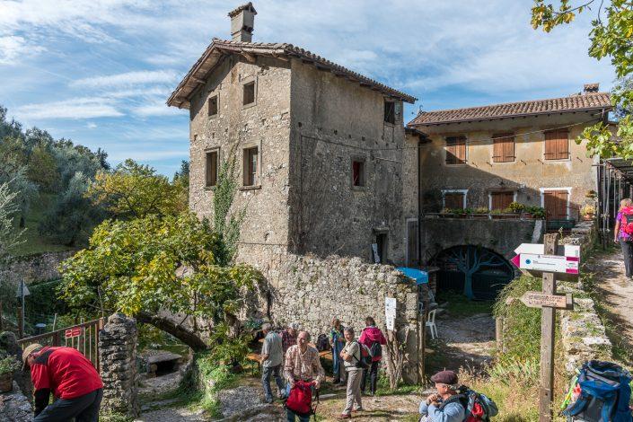 Campo, alter Weiler am Gardasee ideal für eine Mittagsrast