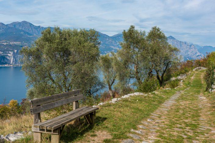 Wandern am Gardasee zwischen Olivenhainen und grandiosen Ausblicken