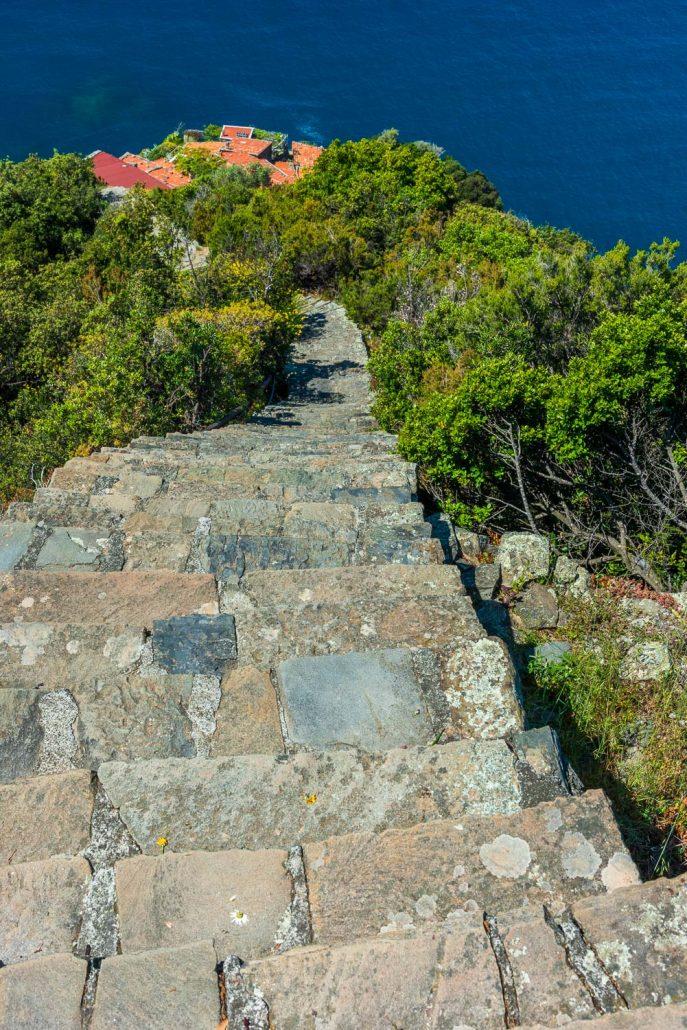Die Treppe von Monesteroli