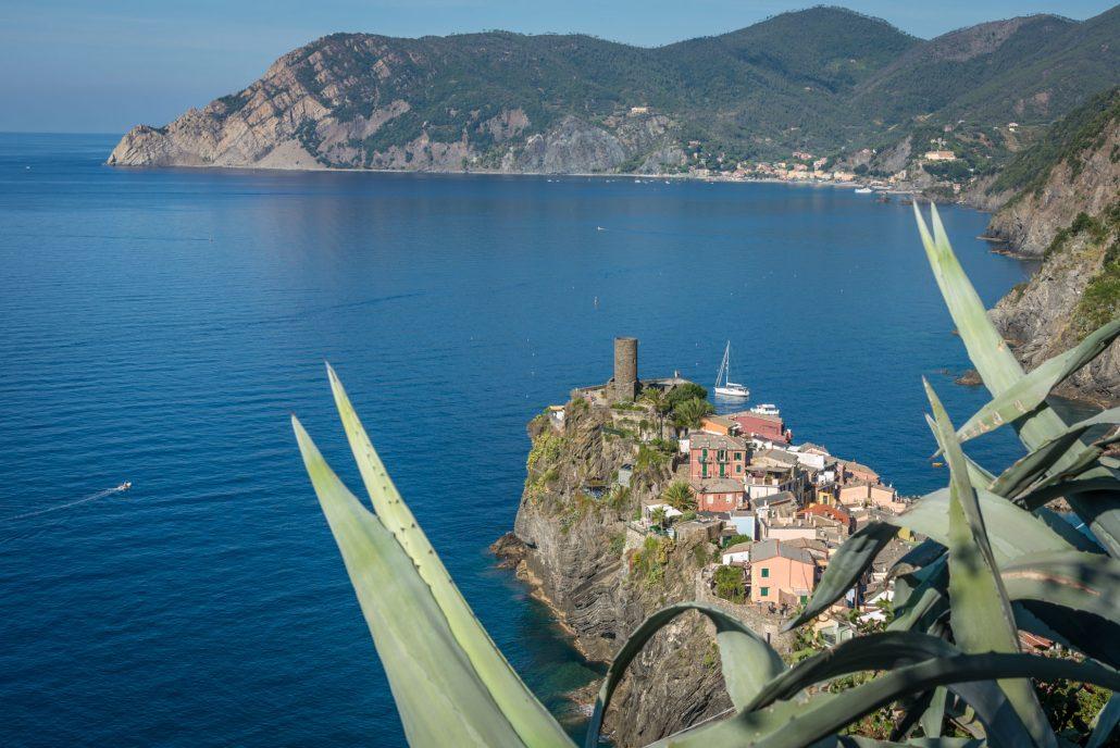 Wandern mit Ausblick: Vernazza, Cinque Terre