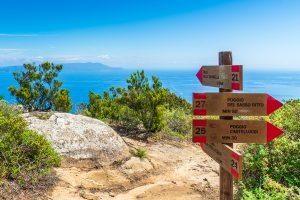 Wandern auf der Insel Giglio