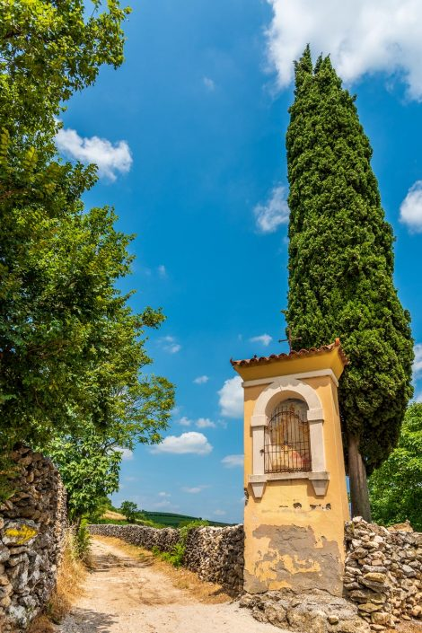 Weg der 10 Capitelli von Soave