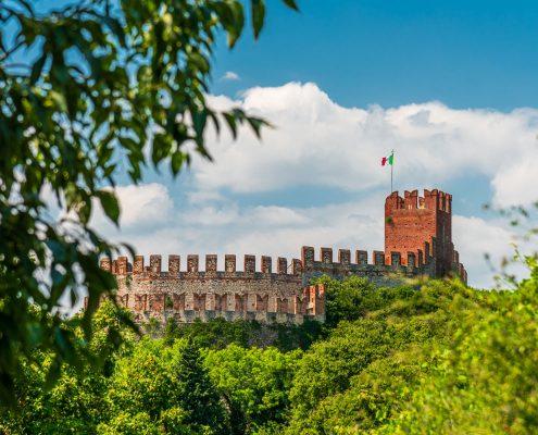 Die Burg von Soave