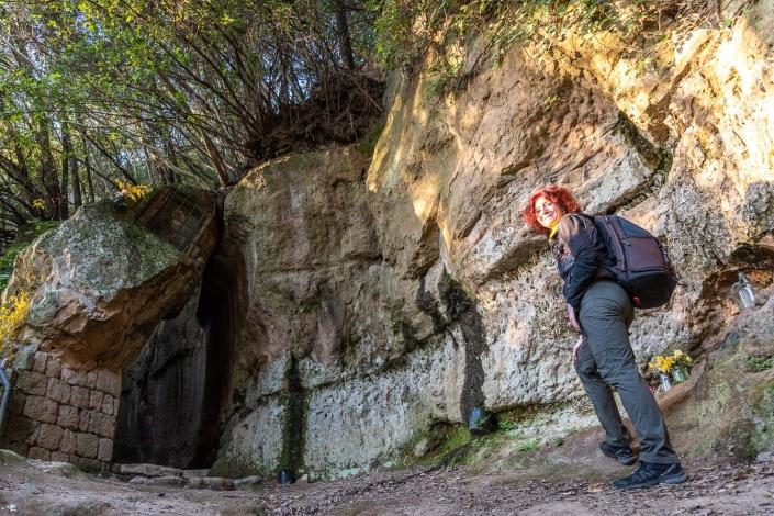 etruskische Grabenwege bei Pitigliano