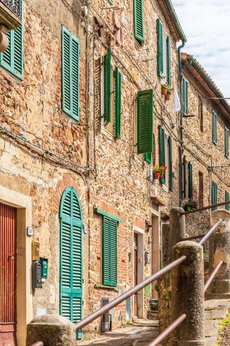 Toskana, Maremma, kleiner Ort