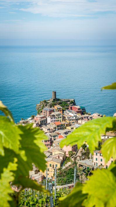Vernazza - ein Dorf der Cinque Terre in Ligurien