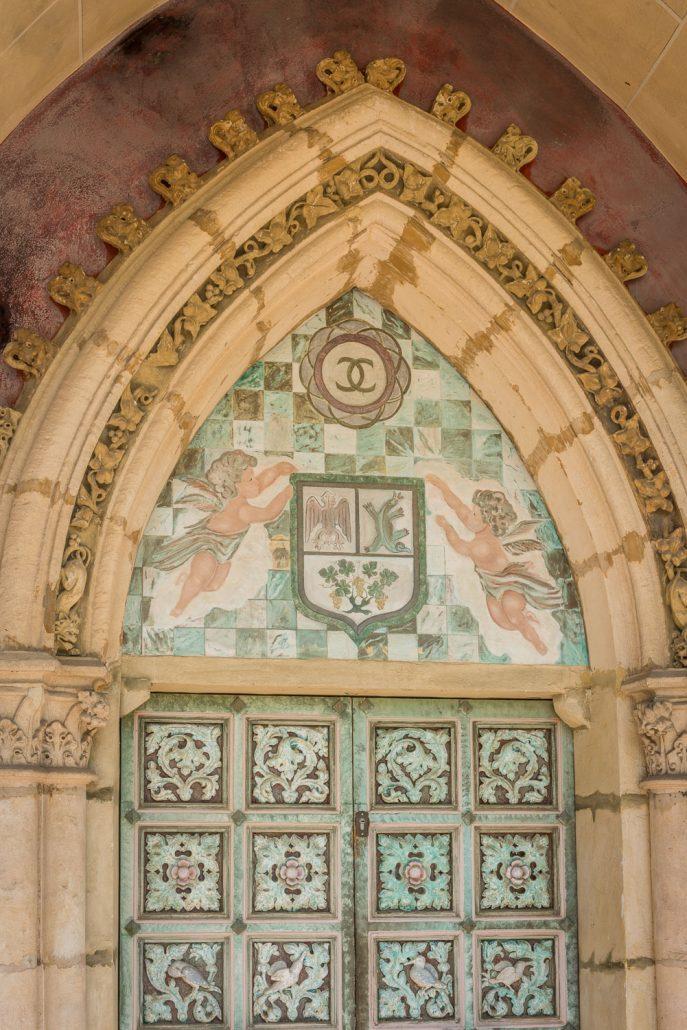 Detail im Chateau Cremat