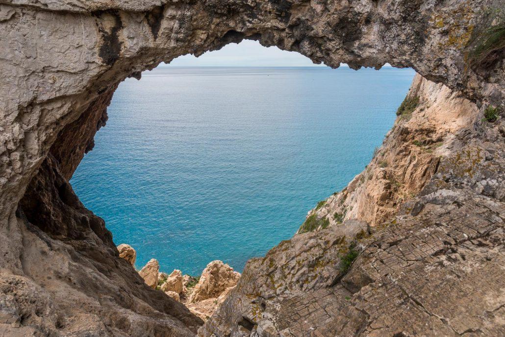 Die Grotte bei Noli