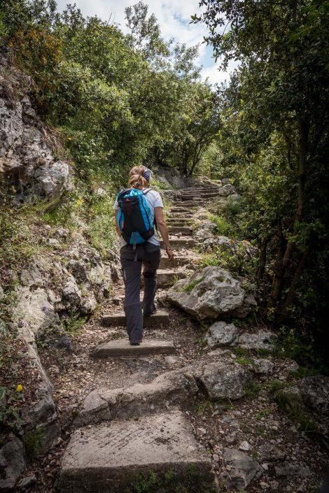 Wandern an der Cote d'Azur