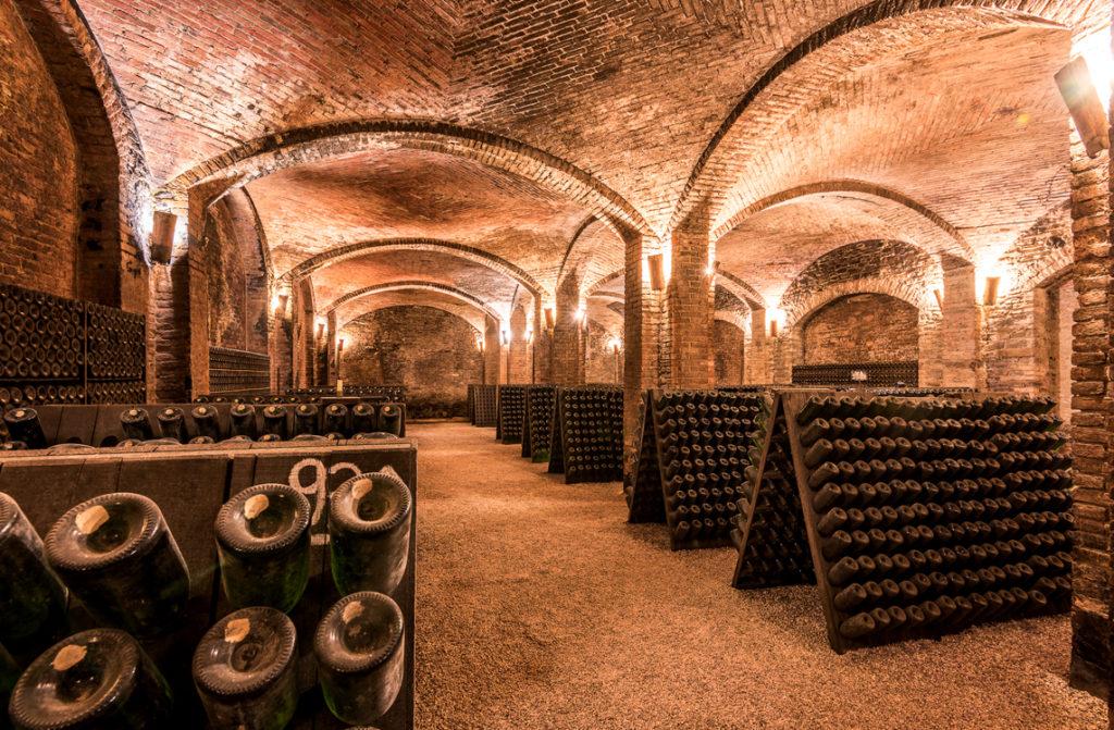 Kellerei Contratto, bester Sekt aus piemontesischer Herstellung
