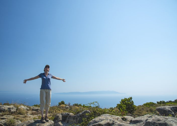 organisierte Wanderreise vom Reiseveranstalter in Italien, Wandern auf der Insel Giglio