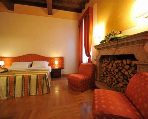 Venetien, ein Zimmer in der Villa Cariola