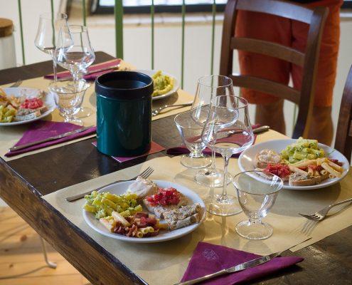 Weinverkostung im Weingut Il Palagione bei San Gimignano