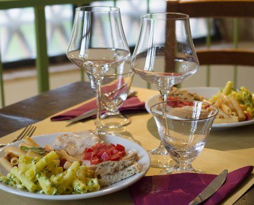 Weinverkostung im Palagione bei San Gimignano
