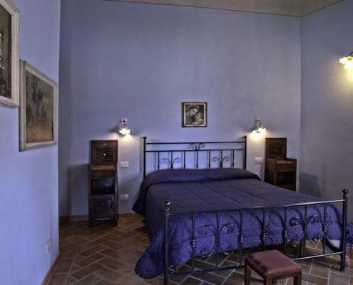 Schlafzimmer im Agriturismo Vergelle