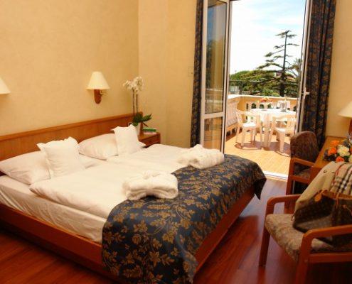 villa Elisa in Bordighera, ein Zimmer