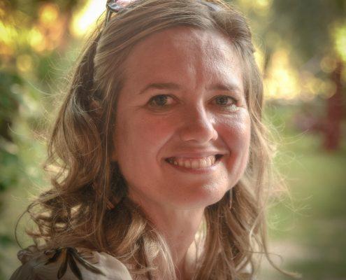 Paola Blanchi, unsere Wanderfuehrerin in der Maremma