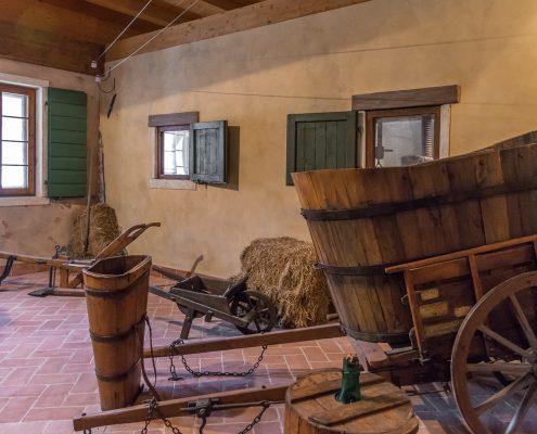 Weinmuseum in der Kellerei Ca' Rugate bei Soave