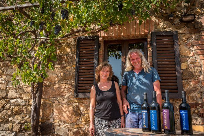 Bodo Bremer vom Weingut Vetluna bei Vetulonia