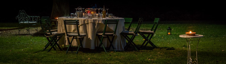 La Parrina, gemütliches Gartenrestaurant in der Maremma