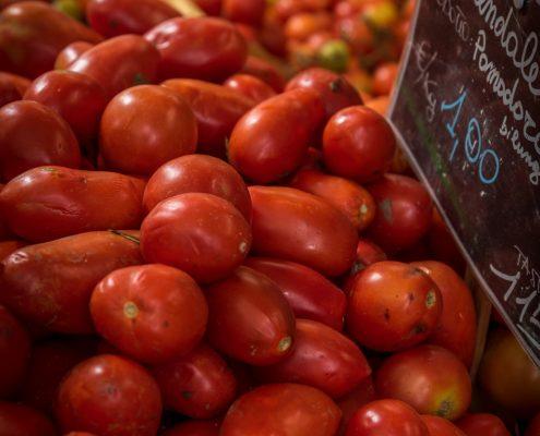 gartenfrische tomaten bei la parrina in der maremma