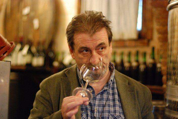 Luciano Capellini, ein Winzer in den Cinque Terre