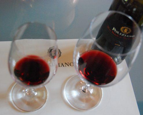 Weinverkostung bei Poliziano in Montepulciano
