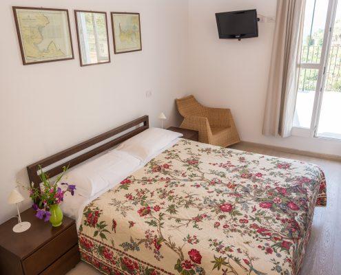 Das Doppelzimmer der Casa Beccara in Manarola