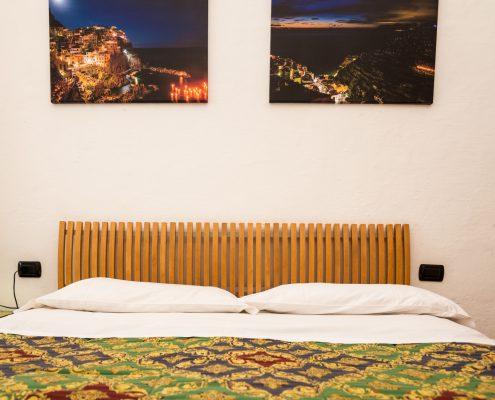 Schlafzimmer der FEWO Belvedere in Manarola