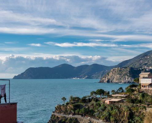 Ausblick vom Studio Lucio und Ferienwohnung Belvedere