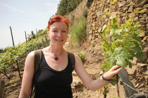 Catherina Unger - wandern in den Cinque Terre