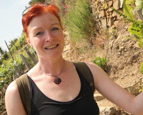 Catherina Unger, Wandern in den Cinque Terre