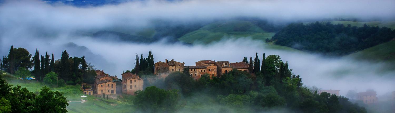 Vergelle Toskana, Landhaus bei Montalcino