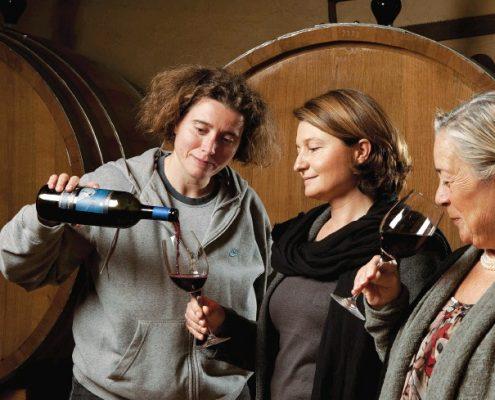 casato prime donne bei Montalcino in der Toskana verkostung
