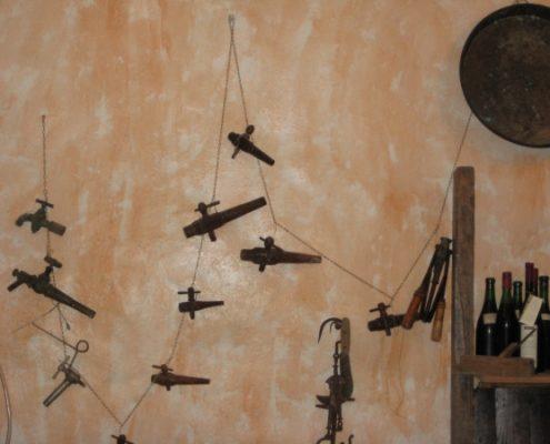Im Weinkeller von Luciano Capellini in Volastra