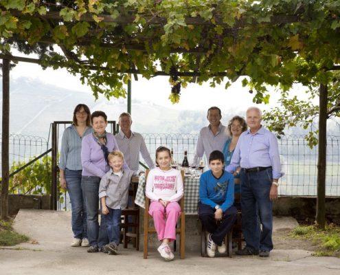 Die Winzer-Familie von Montaribaldi bei Barbaresco