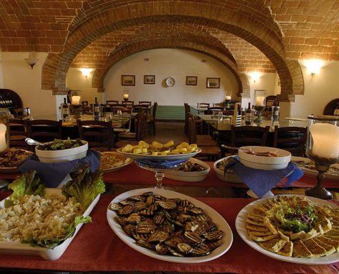 Abendessen in der Parrina
