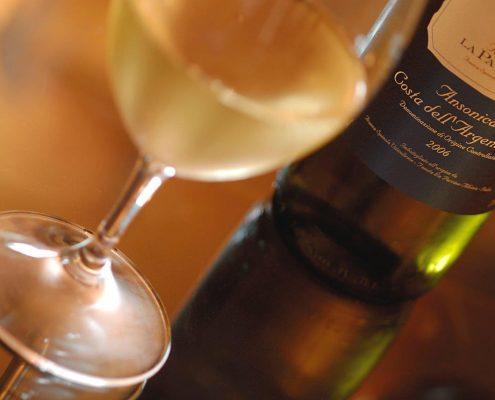 Ansonica - ein typisch maremmanischer Wein vom Landgut La Parrina